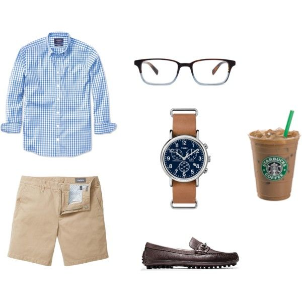 Shirt: Charles Tyrwhitt, Shorts: Bonobos, Loafers: Cole Haan, Watch: Timex