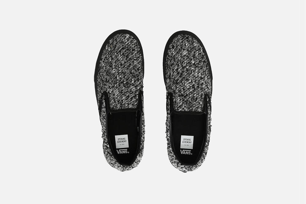 f55e7d2cb26278 Clothing  Vans x Opening Ceremony Wool Slip On — Derwin