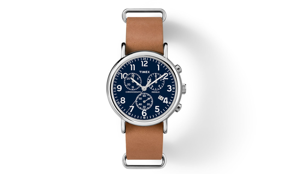 The Timex Chrono Oversized Weekender - $64.00