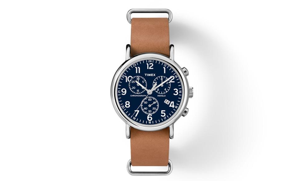 Timex Chrono Oversized Weekender - $64.00