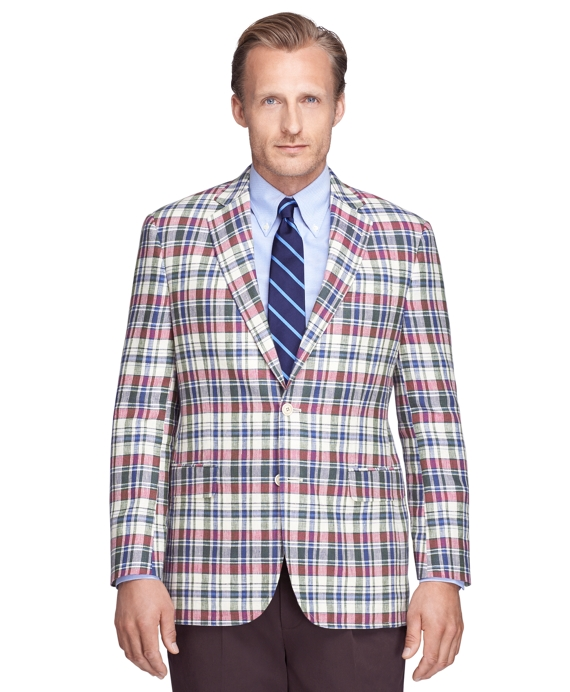 Brooks Brothers is one of the oldest menswear brands around, but in this case 'old' means seasoned and experienced. I mean, look at this jacket!! Shop at Brooks Brothers