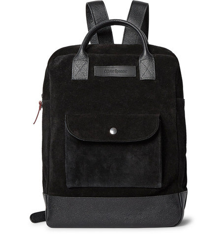 Because a masculine backpack can make a t-shirt and jeans look go from a 6 to a 9. Available at  Mrporter.com