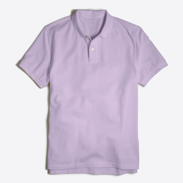 Lavender is perfect for white jeans - its soft and looks good on most skin tones. Shop at J.Crew Factory