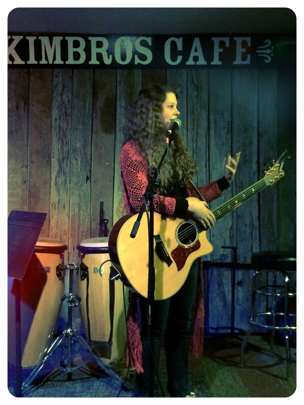Second night at Kimbro's