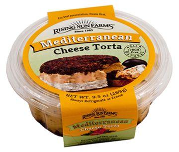 Mediterranean Cheese Torta 9.5 oz.