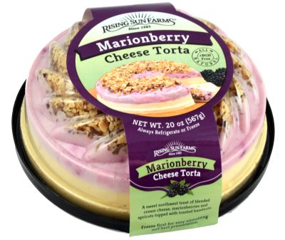 Marionberry Cheese Torta 20 oz.