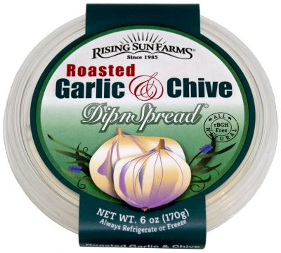 Roasted Garlic and Chive DipnSpread® 6 oz.
