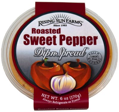 Roasted Sweet Pepper DipnSpread® 6 oz.