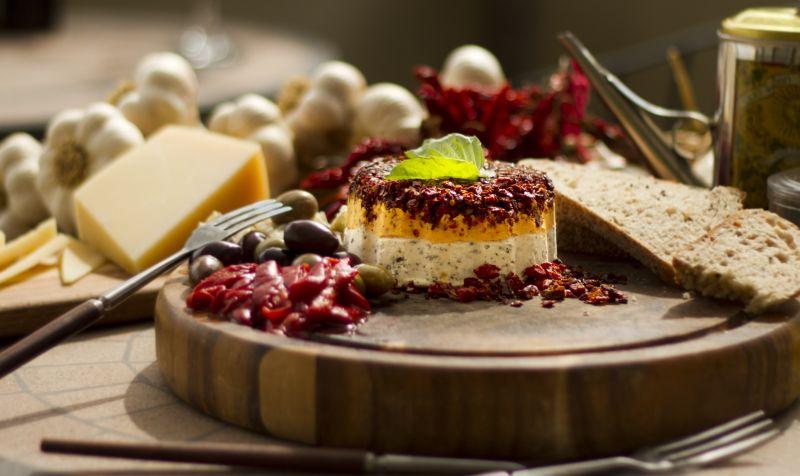 Mediterranean Cheese Torta