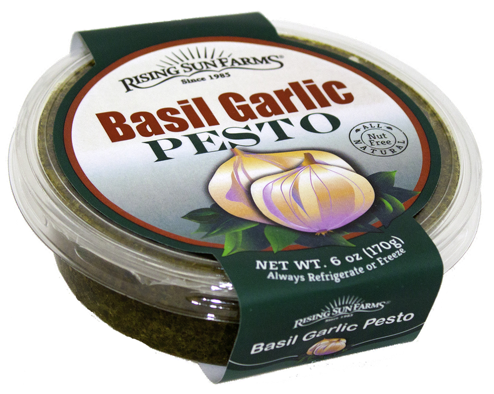 Basil Garlic Pesto 6 oz