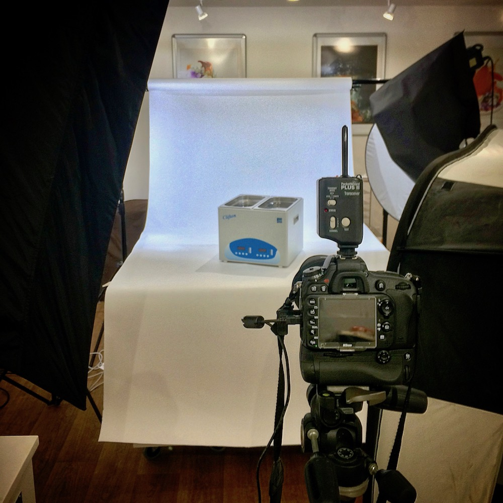 Behind the Scenes Allan Kendall Product Photography
