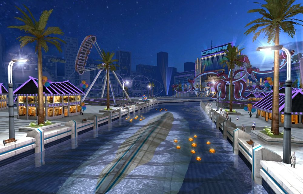 The Tropico level in Riptide GP: Renegade was one of the most visually detailed levels we've ever built.