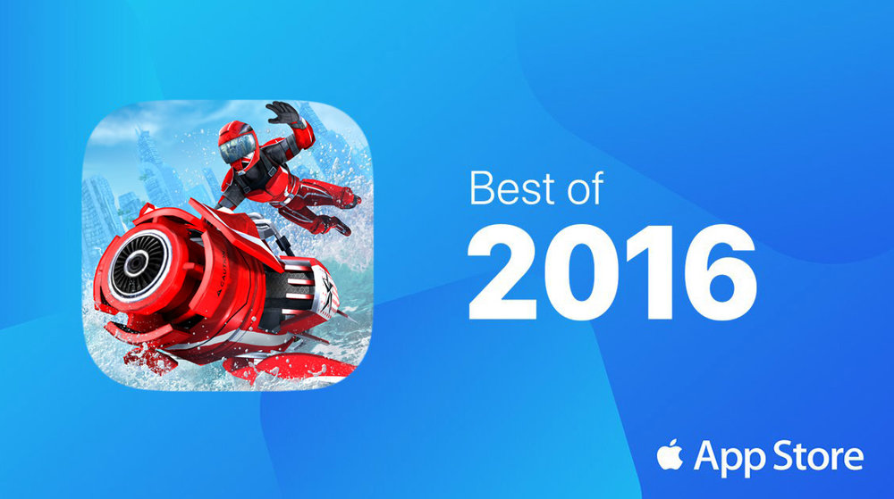 """Game of the Year"" Apple TV, ""Top 5 Games"" iPhone"