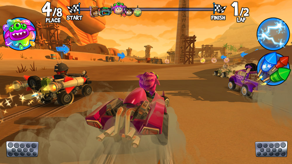 Beach Buggy Racing 2 Vector Unit
