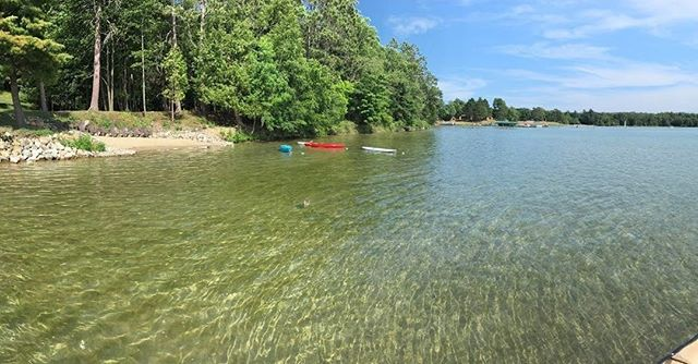 Beach time. #sugarcrest, #sugarlake, #minnesotavacation, #vacationrental
