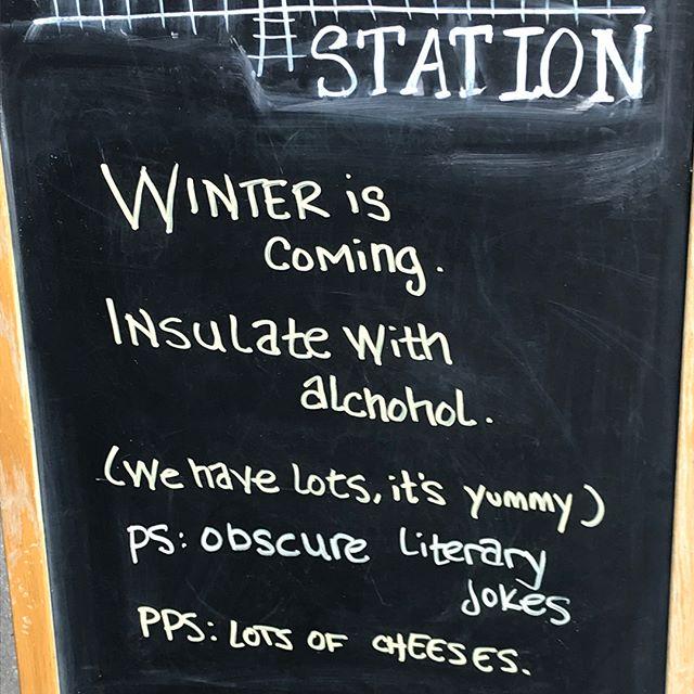 Always be prepared #ironstationbk