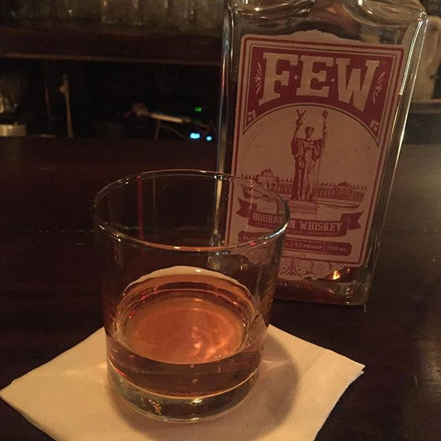 It's that time of the year again- dark at 4:30, getting colder- never fear the brilliant minds at #ironstationbk have found the cure, the FEW bourbon is one of the best curative invented by man. Alex is on the stick all night so come say hello #southslope #brooklynbars #brooklynbourbon