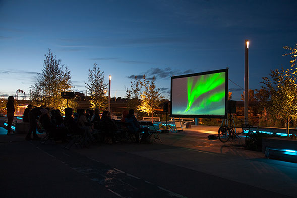 Water Works , series of public screenings of documentary, short and experimental films about water. In collaboration with CSIF