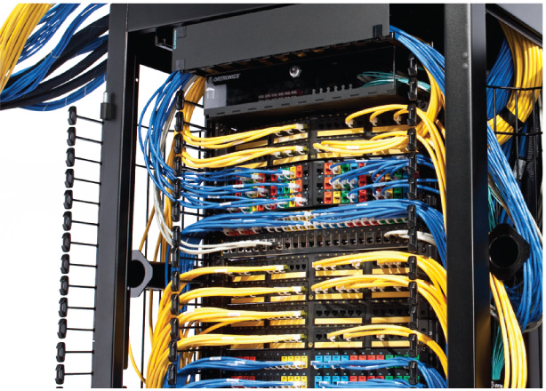Maximize channel performance with co-engineered cabling and connectivity.