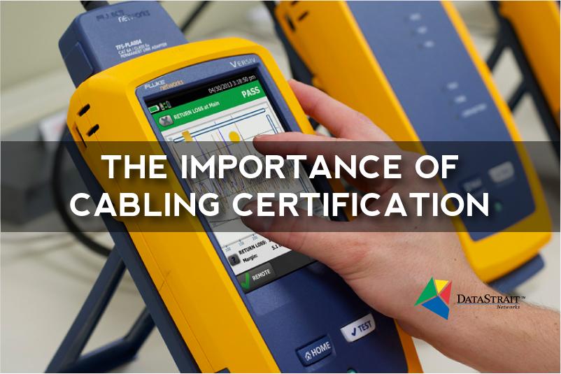 Fluke Networks Cabling Certification