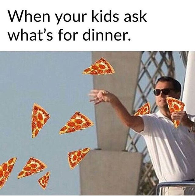 😂 Pick-up specials Monday and Tuesdays at Georgios will solve every parent's problem 👌🏻