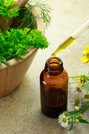 A combination of herbs are put together in one convenient medicine