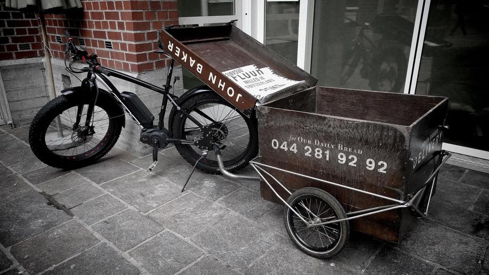 Der  JB-special.  mit Zugbike.