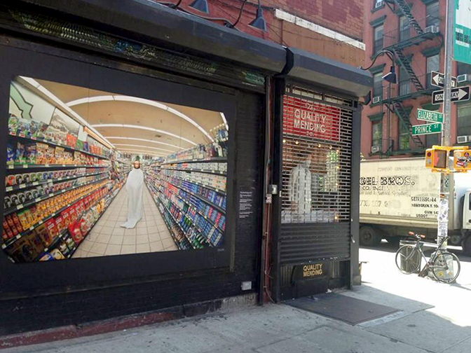 MOBY   12x8ft — Canvas, UV Varnish, Outdoor Mural Quality Mending Co,Soho NYC 2014