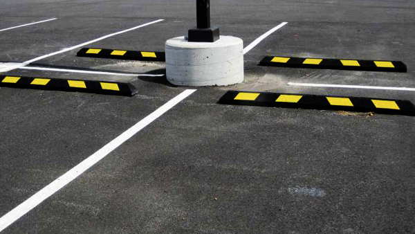 Traffic and Parking - Grip Guard Traffic and Parking products encompass components of any well-maintained car park - whether inside or outside, such as wheel stoppers and speed bumps.
