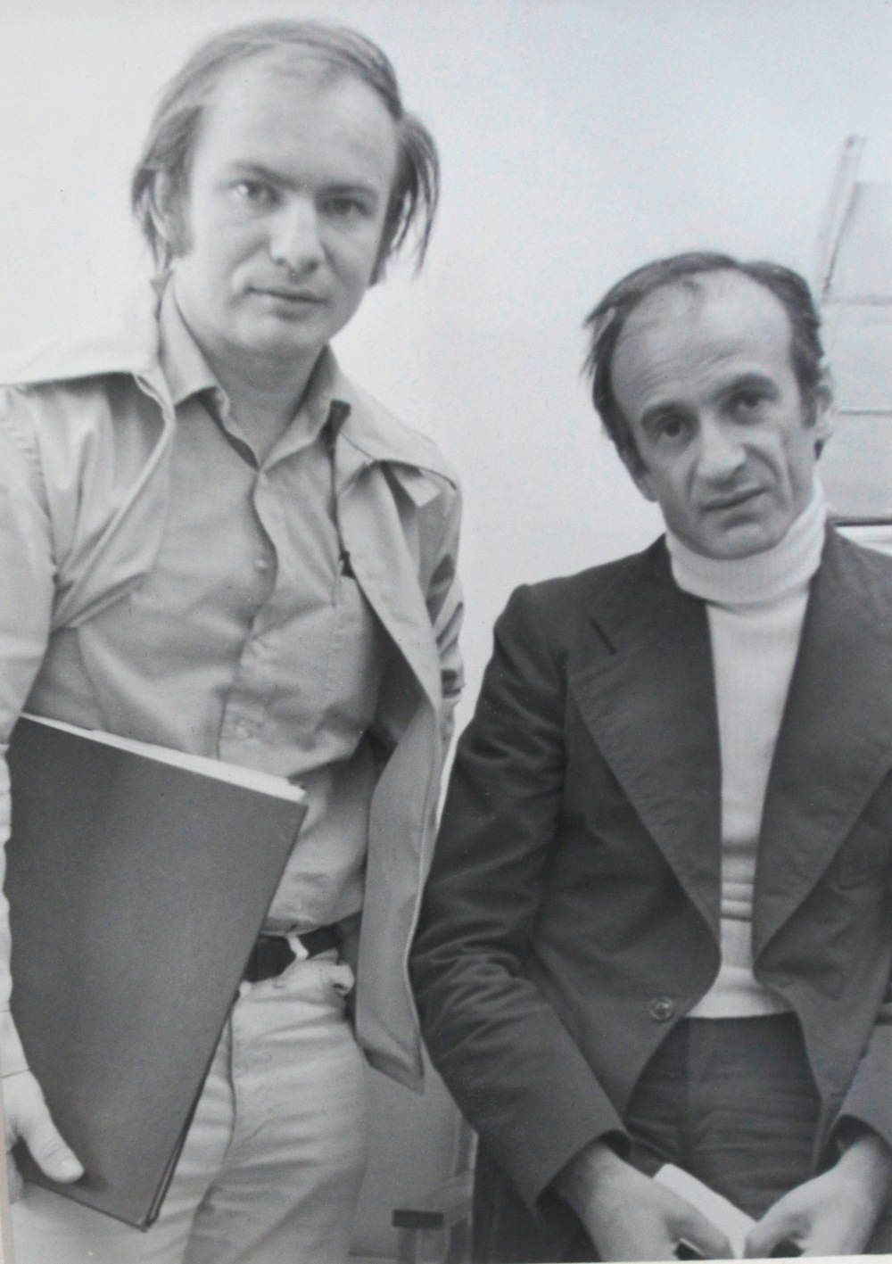 Kenneth Hari with Elie Wiesel
