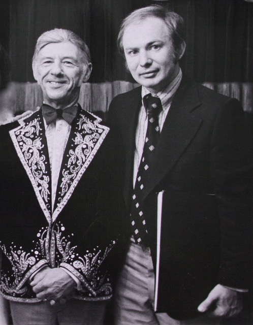 Kenneth Hari with Hank Snow