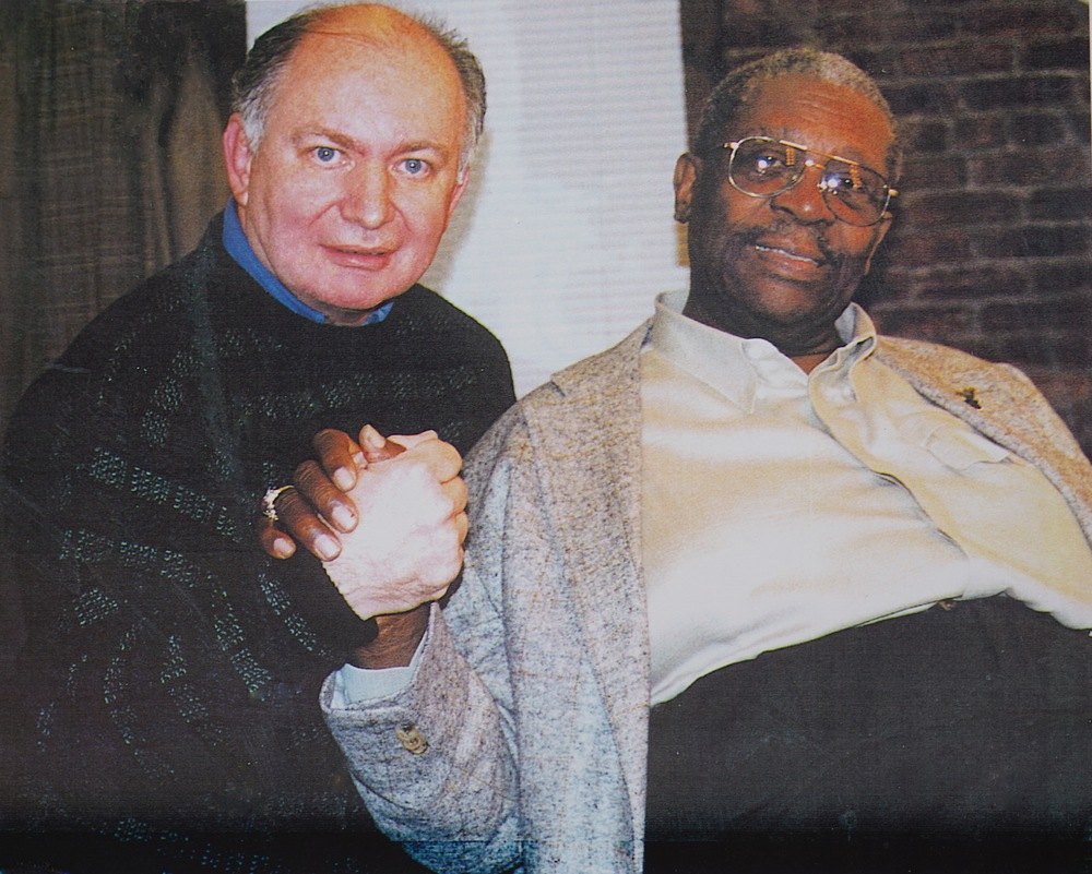 Kenneth Hari with B.B. King
