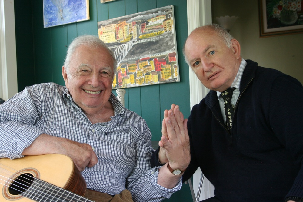 Kenneth Hari with Bucky Pizzarelli