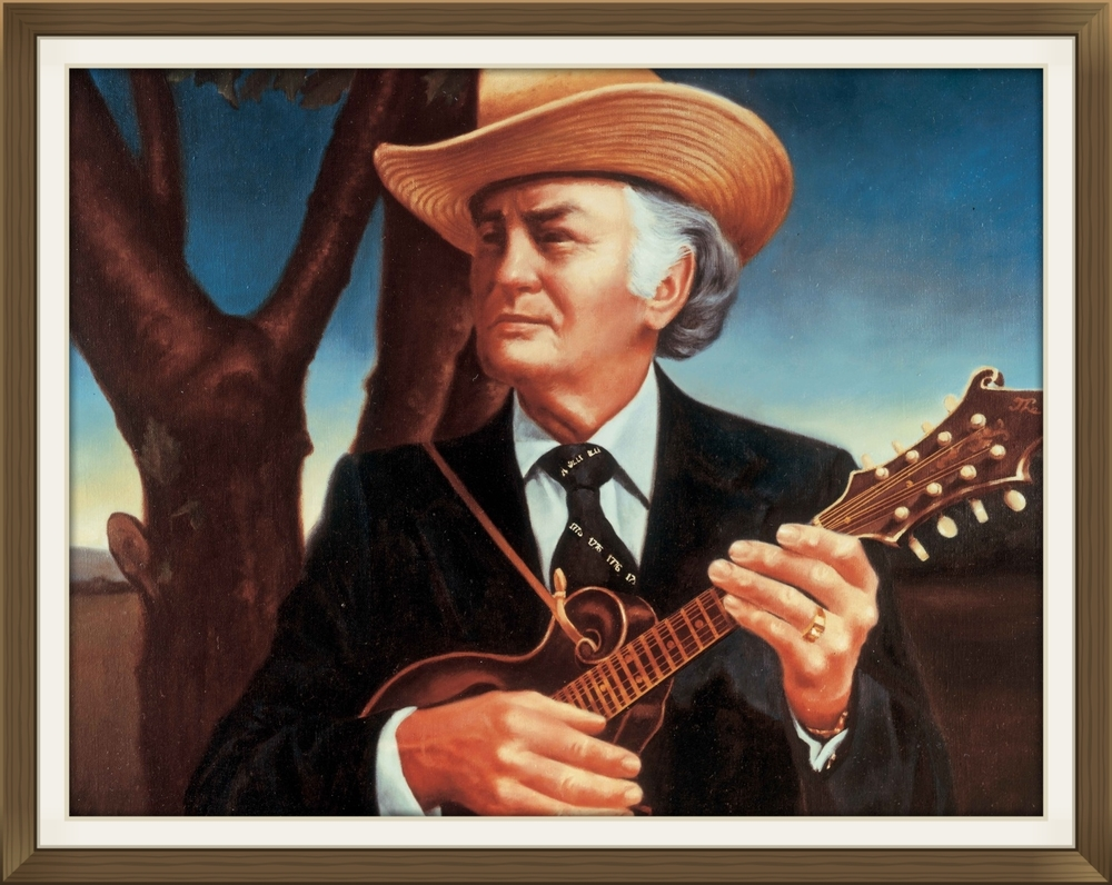 "BILL MONROE  - Musician  Size: 24"" x 30""  Grand Ole Opry House, Nashville, TN in 1976"