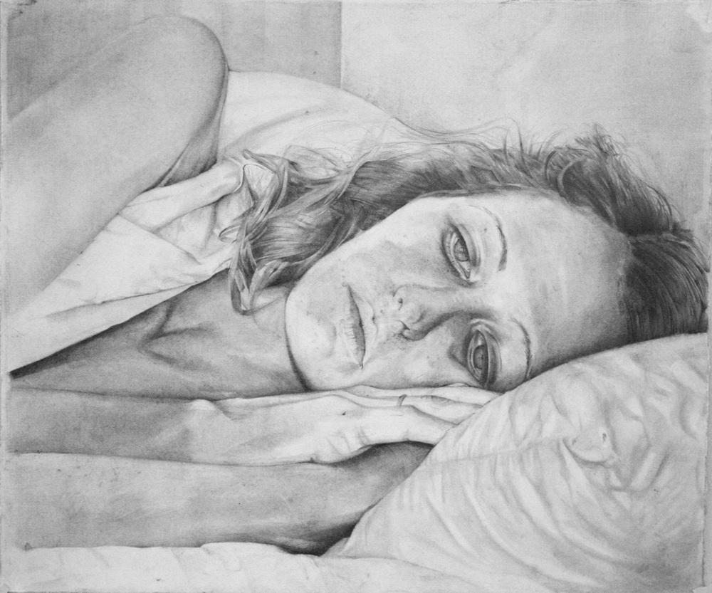 "Yvonne, 13 1/2"" x 11"", 2011"