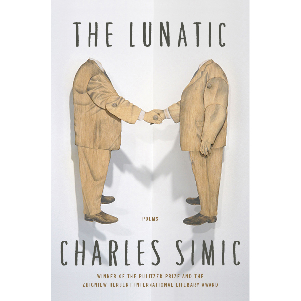 My sculpture used for cover art for Pulitzer Prize winner, Charles Simic, 2013