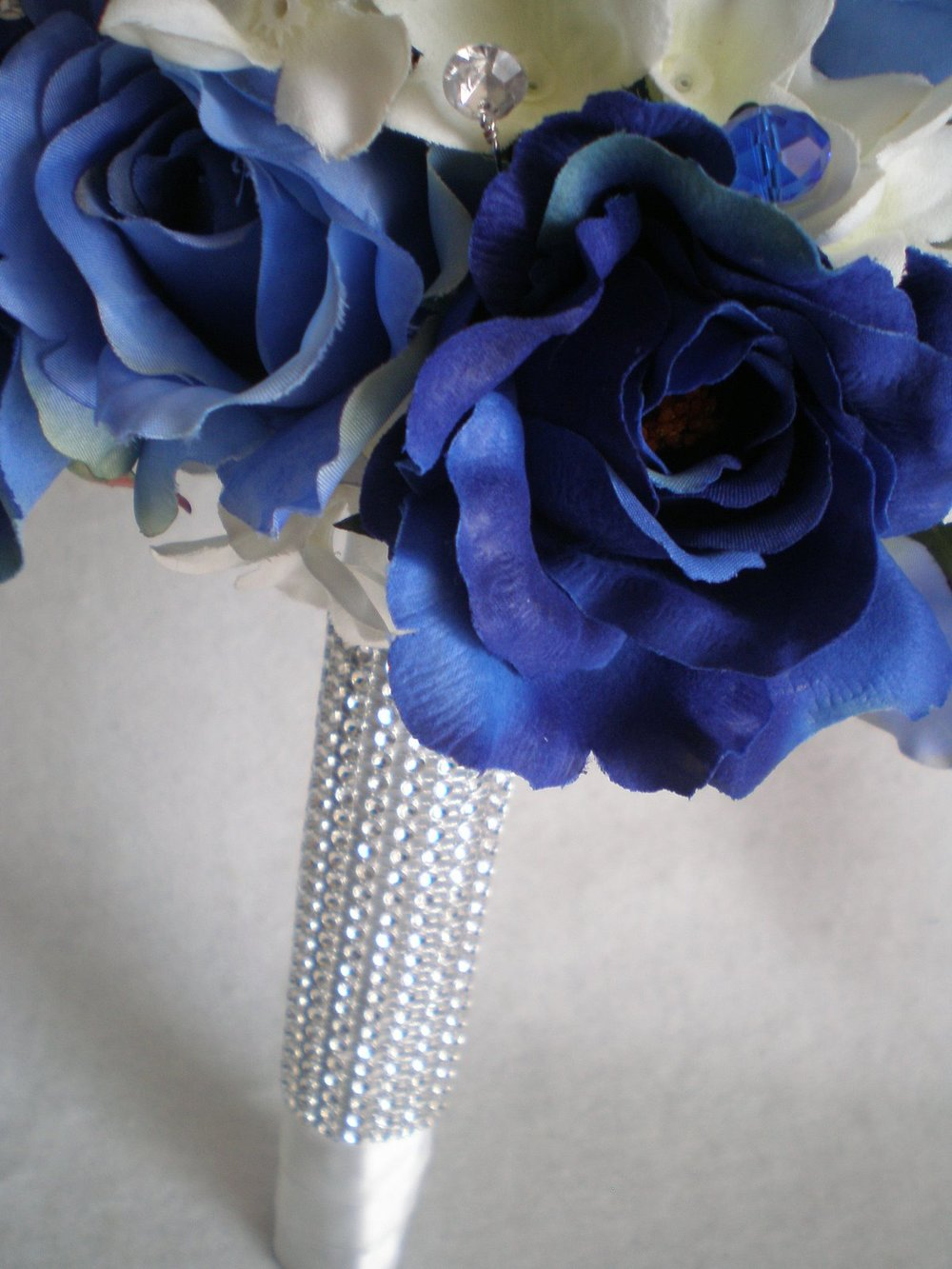 Pink Blue Upgrading To Silk Wedding Flowers Silk Wedding