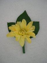 Yellow Daisy Boutonniere - Minneapolis Silk Florist