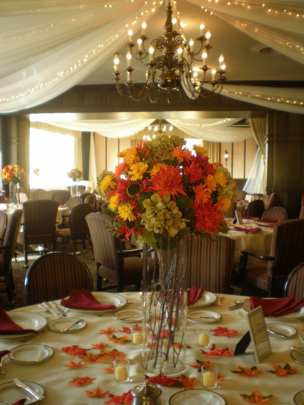 Silk Flower Centerpieces - Minneapolis Silk Florist