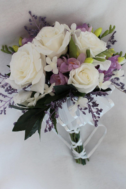 Anniversary Bouquet Recreation | Testimonial — Silk Wedding Flowers ...