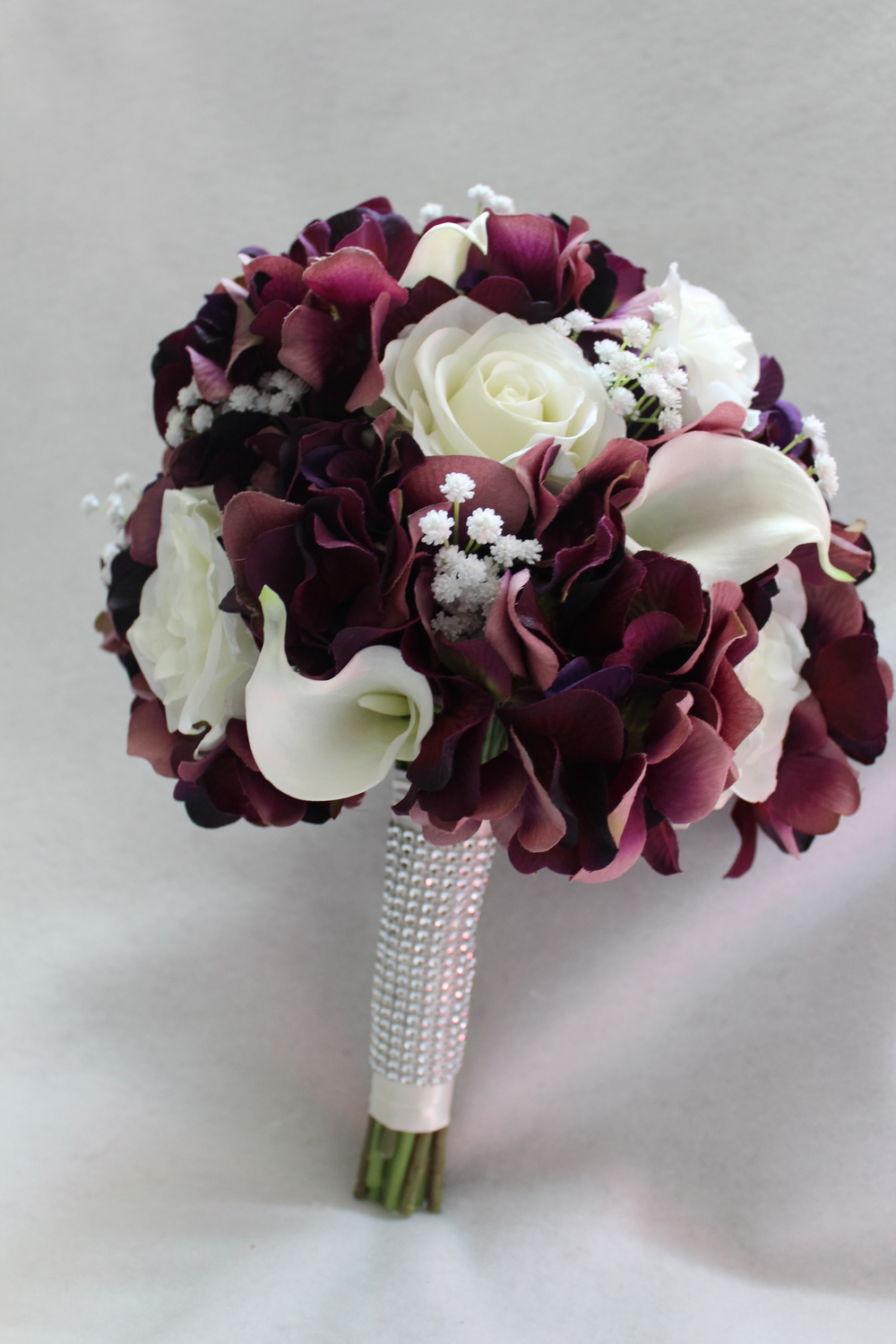 Purple flowers come in purple purplepurple silk wedding lavender flowers with white orchids izmirmasajfo