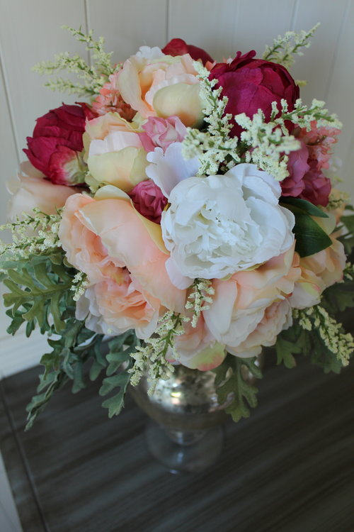 Bridal Bouquet Recreation — Silk Wedding Flowers and Bouquets Online ...