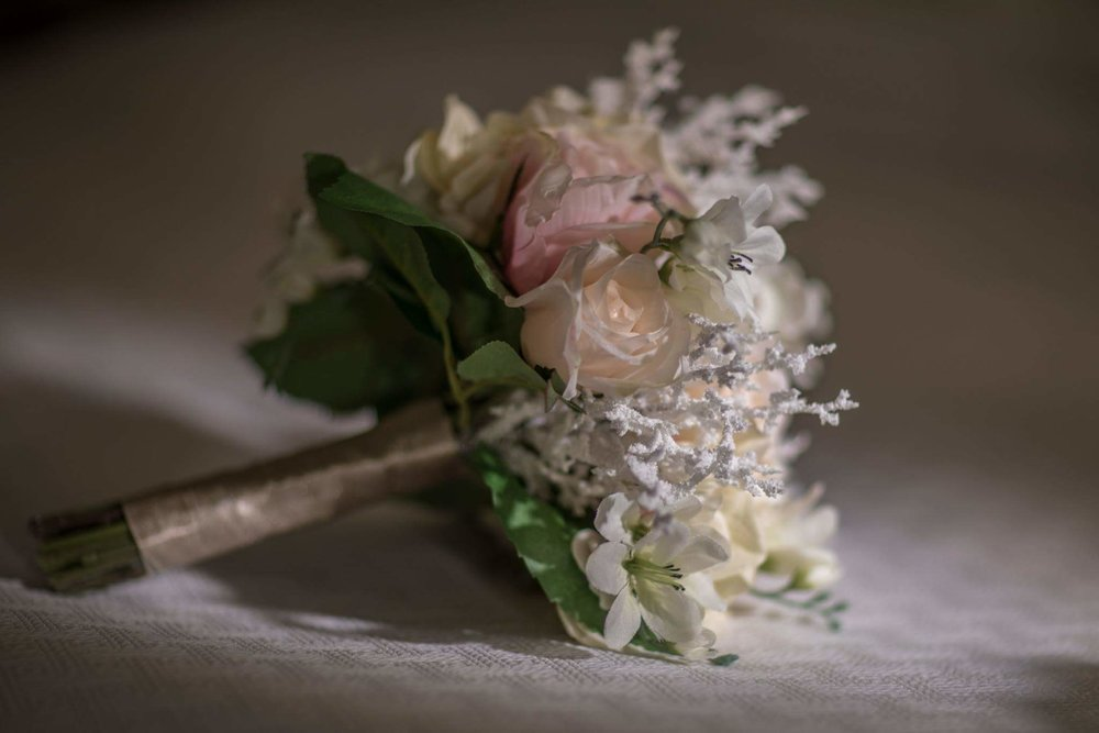 One of the bridesmaid bouquets.
