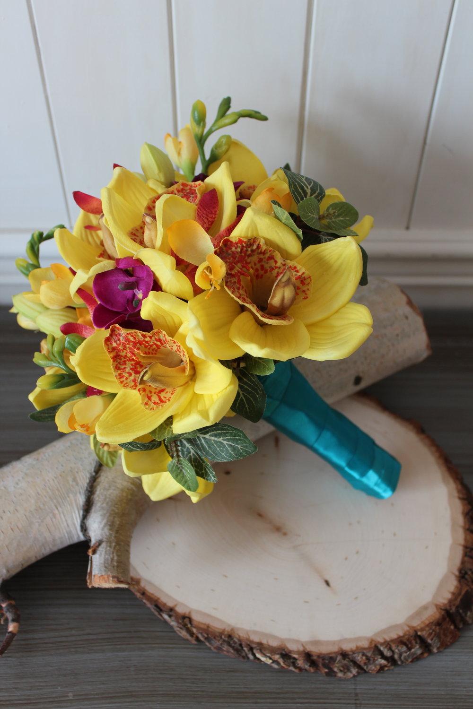 Destination wedding bridal bouquet recreation silk wedding flowers bridal bouquet recreation in silk flowers izmirmasajfo