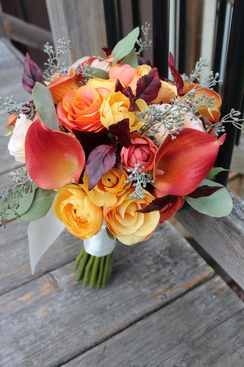 Silk Bridal Bouquet Recreation