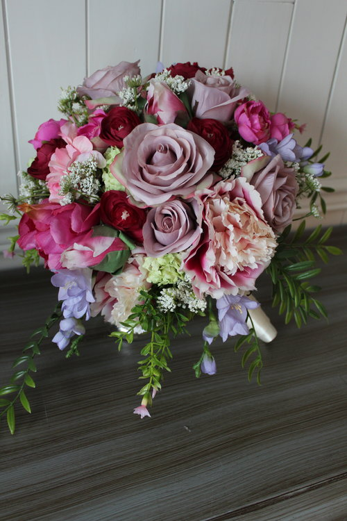 Silk Wedding Flowers and Bouquets Online | Love Is Blooming