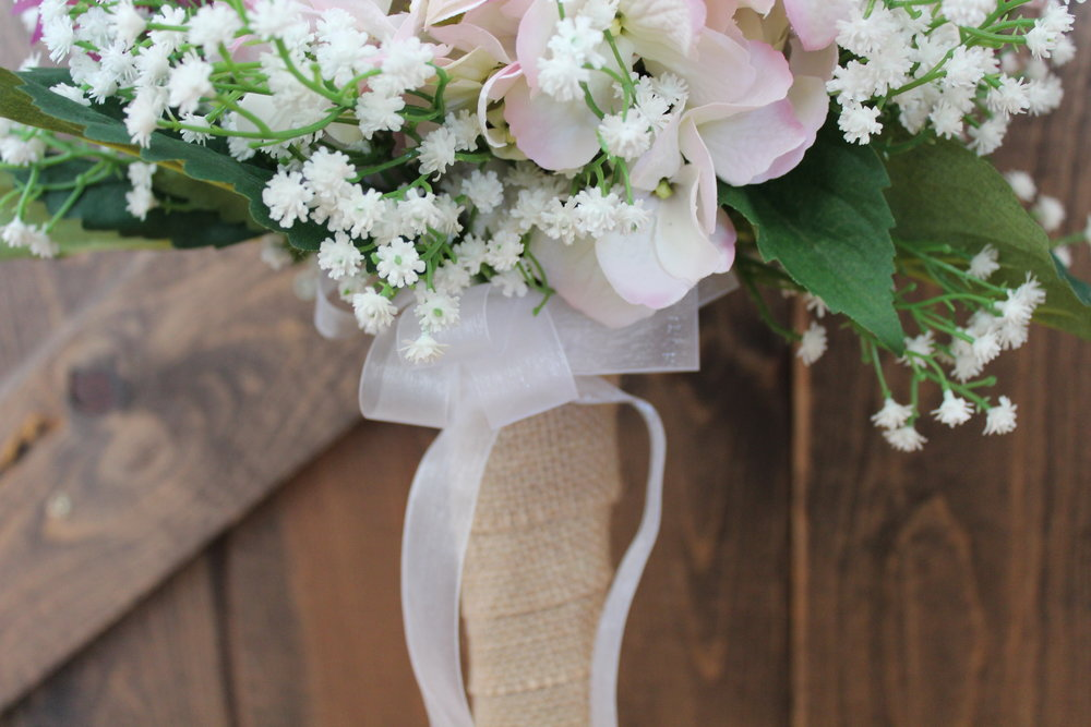 1 Year Anniversary Gift Silk Bridal Bouquet Recreation Silk