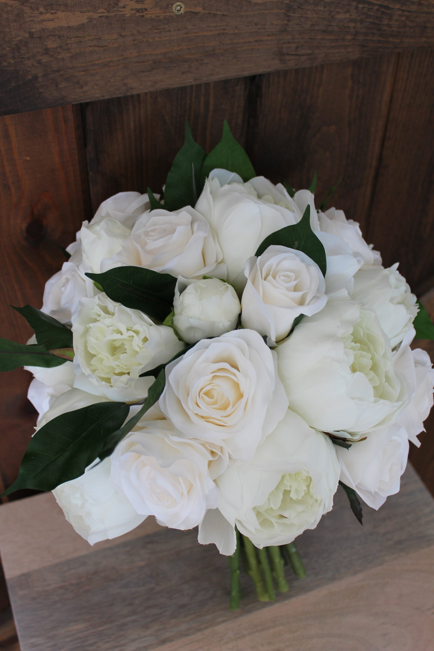 Bridal Bouquet Recreation In Silk Flowers Silk Wedding Flowers And