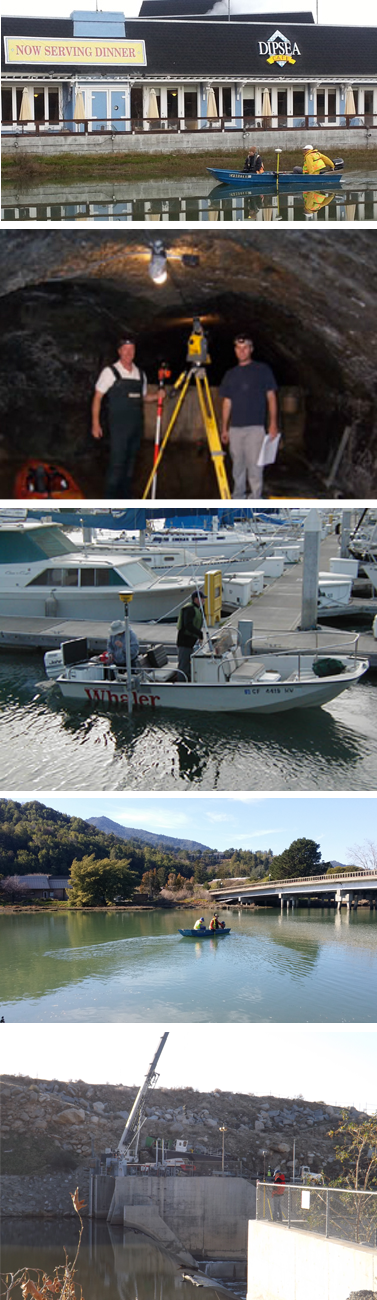 We are ready for your Napa Ca Hydrographic Surveying Project.