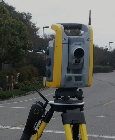 ALTA Surveying Equipment in St. Helena